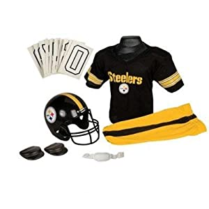 NFL Pittsburgh Steelers Boy's Uniform Set, Medium from D&H Drop ship