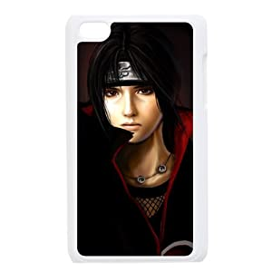 Cool Uchiha Itachi For IPod Touch 4th Black or White Durable Plastic Case-Creative New Life