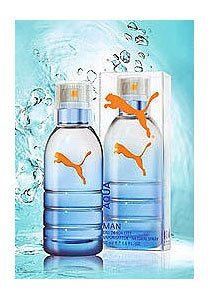 Puma Aqua Man Profumo Uomo di Puma - 50 ml Eau de Toilette Spray