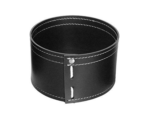 KOME 532: Set svuota tasche in cuoio rigenerato composto da 3 pezzi, colore Nero.