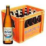 オリオン ドラフト 瓶ビール 500ml(中瓶)×20本(1ケース) プラスチックビールケース付