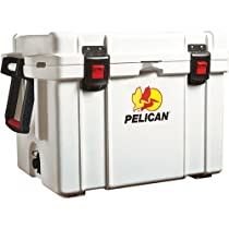 Pelican ProGear Elite Marine Deluxe Cooler with 2-Inch Insulation, White, 35-Quart