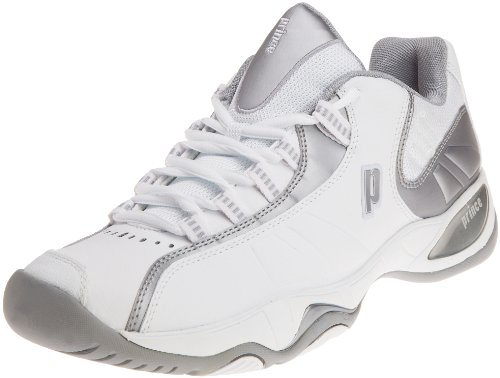 Prince T7 Women's Tennis Footwear White/Silver 4.5 UK