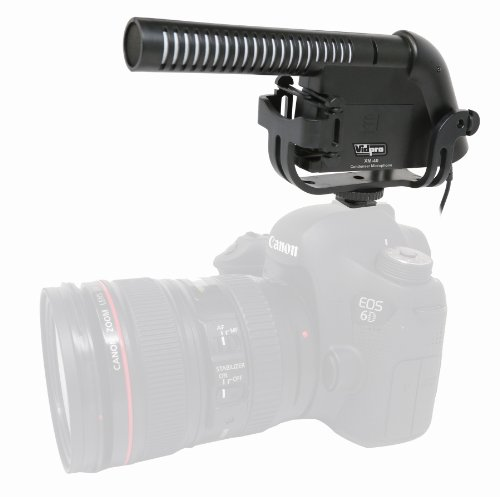 Gopro Hero3 Camcorder External Microphone Xm-40 Professional Video & Broadcast Condenser Microphone