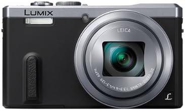 Panasonic DMC-TZ60 Lumix Fotocamera Compatta, 18 MP, Zoom Ottico 30x, GPS, WiFi, NFC, Argento