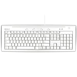 Macally IKEY5 USB Slim Keyboard