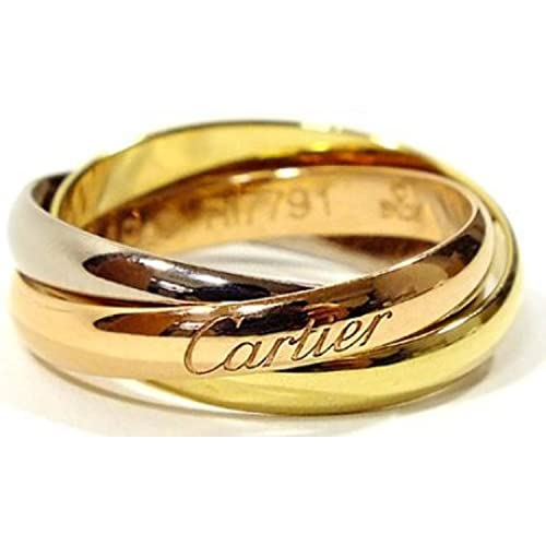 CARTIER カルティエ リング トリニティリング [リクエスト注文/選べるサイズ] Sモデル 指輪 プレゼント リクエスト 女性 レディースリクエスト販売51(11号)