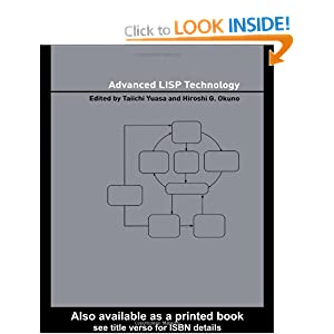 Advanced LISP Technology (Advanced Information Processing Technology)