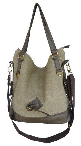 Otium 20228MCF Retro Canvas Handbag Tote Bag,Garment