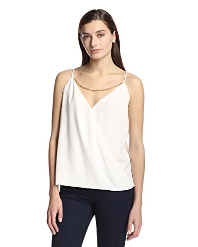 Single Women's Flip Cami with Chain Detail