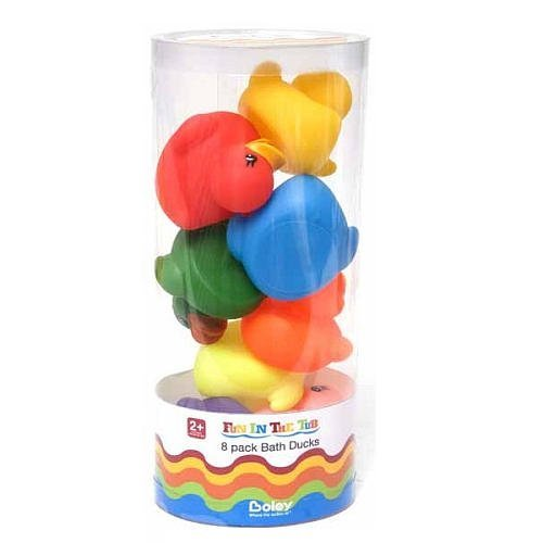 Boley Fun in the Tub Bath Ducks - 8 Pack - 1