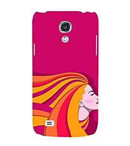 Clipart Girl 3D Hard Polycarbonate Designer Back Case Cover for Samsung Galaxy S4