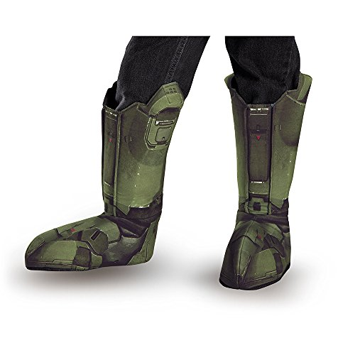 Disguise Men's Master Chief Adult Costume Boot Covers