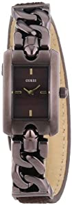 Guess Damen-Armbanduhr XS SLINKY Analog Quarz Messing W0053L4