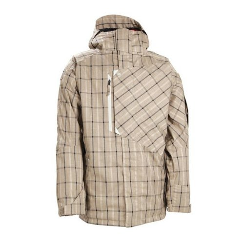 ウェア 正規品11-12 686 SMARTY COUNTER JACKET TAUPE PLAID S ジャケット