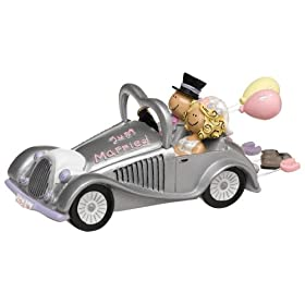 Weddingstar Wedding Get-a-way Car Figurine