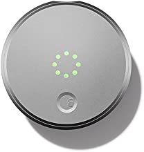 August Smart Lock - Keyless Home Entry with Your Smartphone, Silver