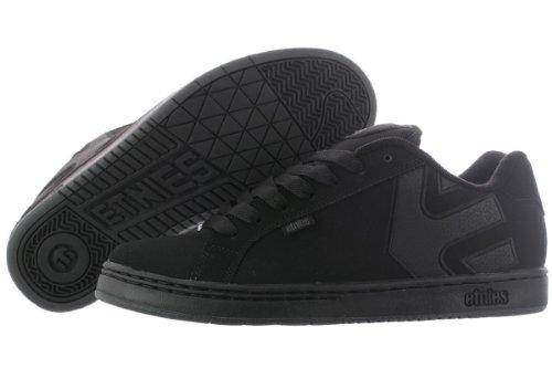 Etnies Mens Fader LS Shoes Footwear,Black Dirty Wash,8