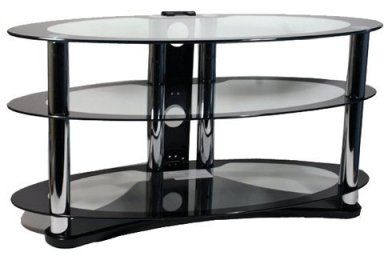 Opal Glass TV Stand for TVs of up to 39