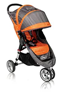 Baby Jogger 2011 City Mini Single Stroller, Orange/Gray (Discontinued by Manufacturer) (Discontinued by Manufacturer)