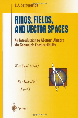 Rings, Fields, and Vector Spaces: An Introduction to...