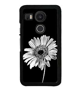 Beautiful Flower 2D Hard Polycarbonate Designer Back Case Cover for LG Nexus 5X :: LG Google Nexus 5X New