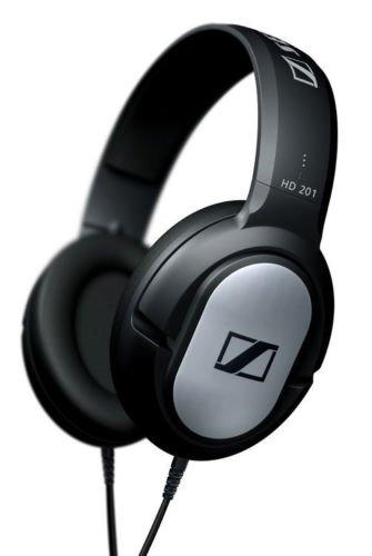 New Sennheiser Hd201 Professional Closed Back Over-Ear Dj Headphones (Hd 201)