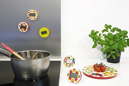 Pebbly 88-8033F Fraises Balance de Cuisine Electronique Rond