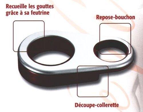 TEFAL - Collier De Bacchus anti-gouttes Métal Chromé *