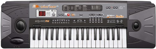 37 Keys Electronic Music Keyboard Piano Organ with Recording Playback and FM Radio w/ Mic &#038; Adaptor