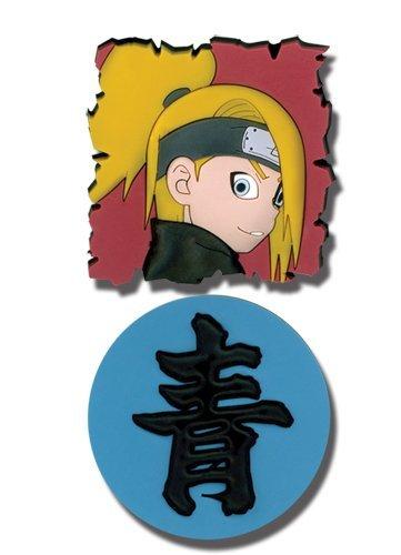 Naruto Shippuden PVC Pin Set Deidara and Kanji - 1