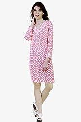 Caribbean Joe Womens Pina Colada Desert Rose Dress