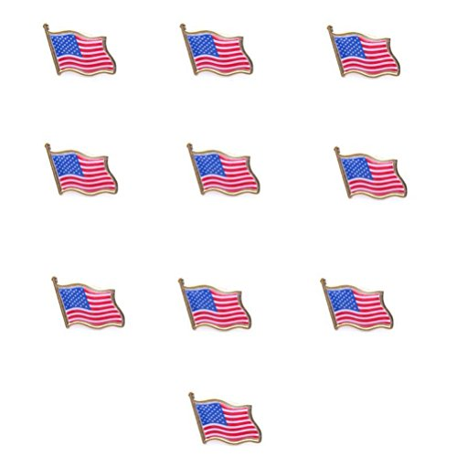 pixnor-usa-drapeau-lapel-pin-drapeau-standard-hat-tie-pin-pack-de-10