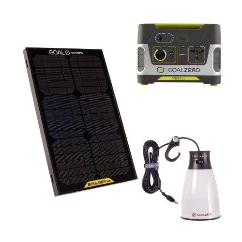 Goal Zero® Yeti 150 Solar Generator Kit
