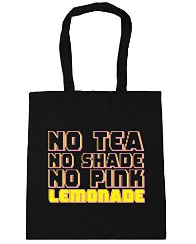 hippowarehouse-no-tea-no-shade-no-pink-lemonade-tote-shopping-gym-beach-bag-42cm-x38cm-10-litres