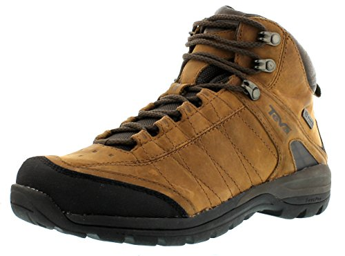 Teva Kimtah Mid eVent Leather W's, Scarpe da escursionismo e trekking donna, Marrone (Braun (bison 561)), 36.5