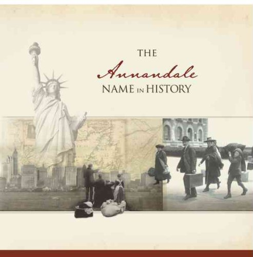 The Annandale Name in History