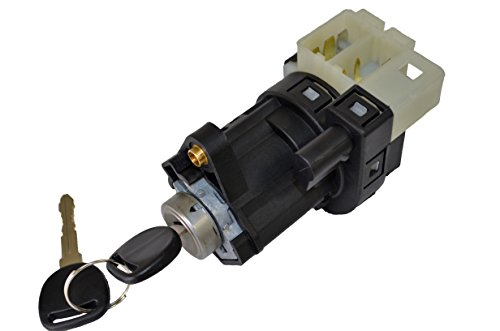 PT Auto Warehouse ISS-271WC - Ignition Starter Switch with Lock Cylinder and 2 Keys (1999 Grand Am Ignition Switch compare prices)