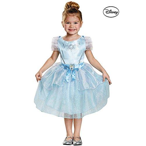 Classic Cinderella Costume - Toddler Small (Baby Cinderella Costume)