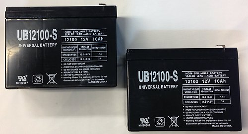 12V 10Ah Schwinn S500 Fs, S-500 Fs Scooter Battery - 2 Pack
