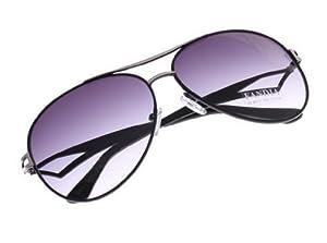 Y-BOA 2PCS Lunettes de Soleil Mixte Sunglasses Sport Filtre UV (Violine)