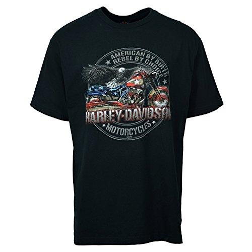 Harley-Davidson Men's T-shirt - American Rebel | Ramstein Air Base - LG