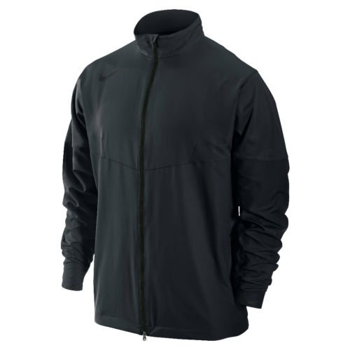 Nike Golf 2013 Men's LS Sport Full Zip Wind Jacket - Black - XL
