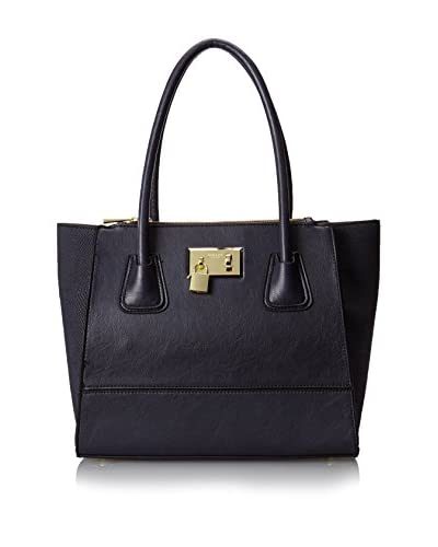 London Fog Hudson Tote,Navy,One Size As You See