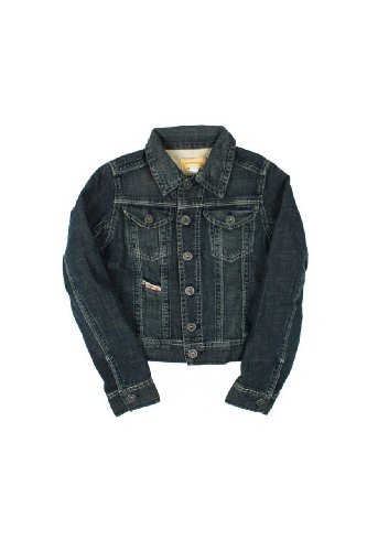 Diesel Giacca di Jeans LUNGHY, bambini, Colore: Blu Scuro, : 164