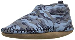 Robeez Classic Moccasin Soft Sole Crib Shoe (Infant), Camo Print, 0-6 Months M US