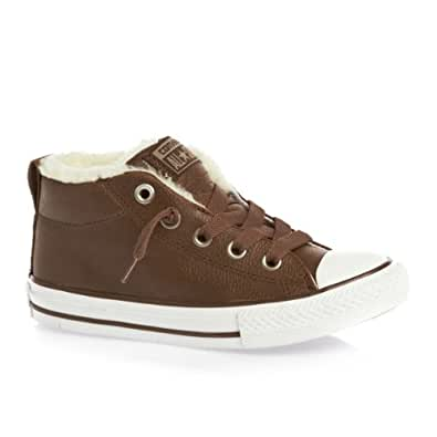Converse Chuck Taylor All Star Street Trainers - Pinecone/Lead Gray