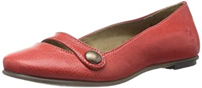 Fly London Women's Fusi Ballet Flats P143067001 Devil Red 5 UK, 38 EU