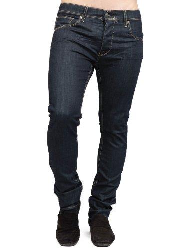 Japan Rags 750 Basic Carrot Blue Man Jeans Men - W32