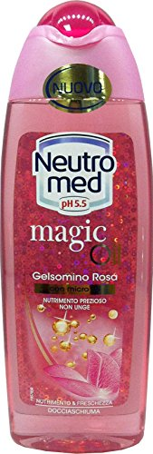 NEUTROMED Doccia Schiuma Magic Oil Gelsomino Rosa 250 Ml